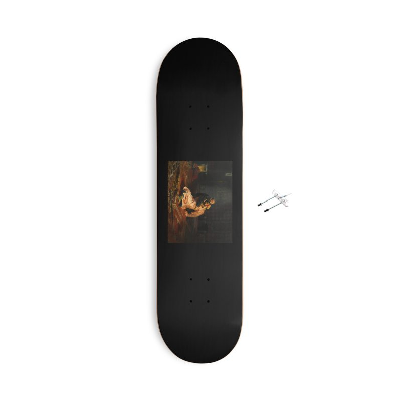 Vivid Retro - Ivan the Terrible and His Son Ivan Accessories With Hanging Hardware Skateboard by lostsigil's Artist Shop