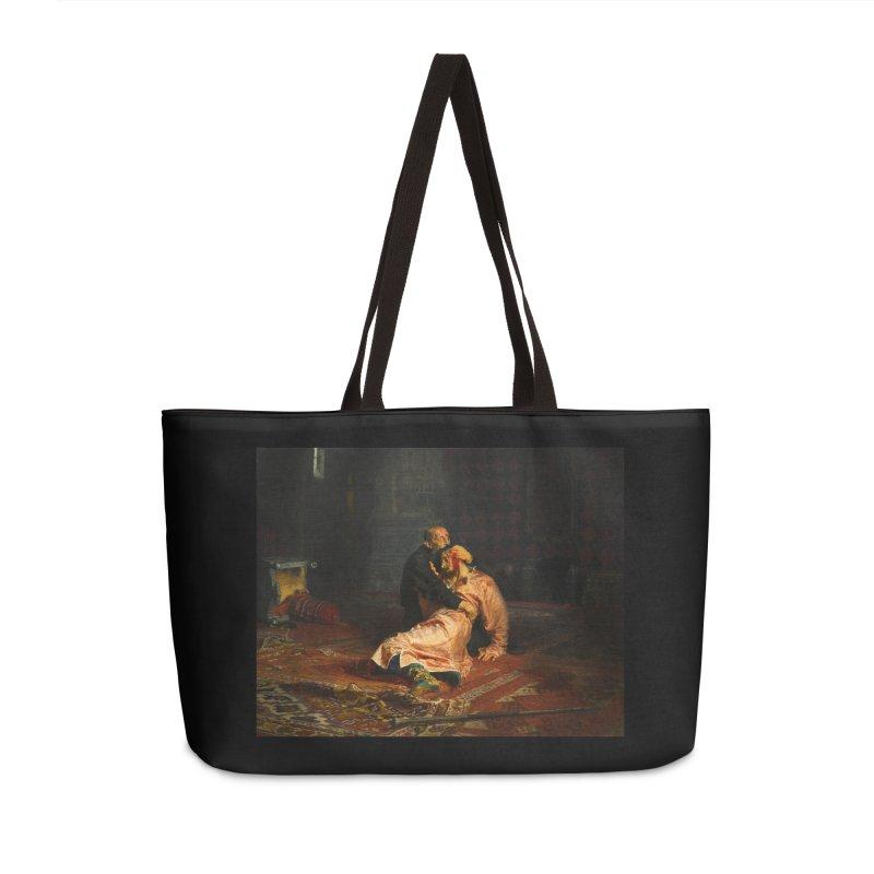 Vivid Retro - Ivan the Terrible and His Son Ivan Accessories Weekender Bag Bag by lostsigil's Artist Shop