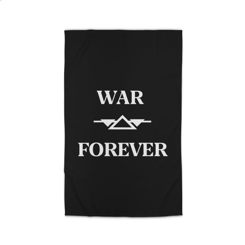 War Forever Black Home Rug by lostsigil's Artist Shop