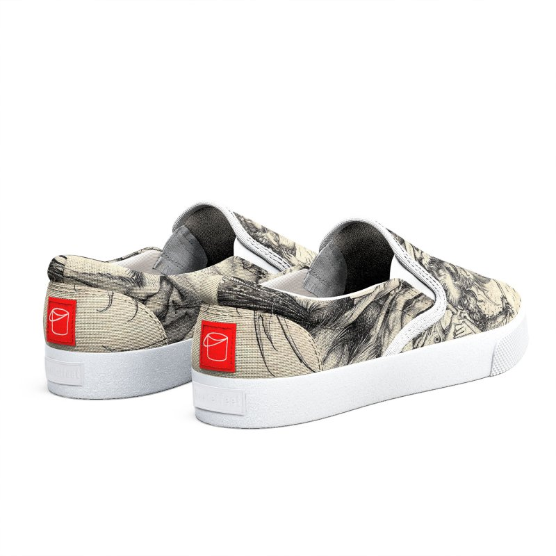 Vivid Retro - St. Anthony Men's Shoes by lostsigil's Artist Shop