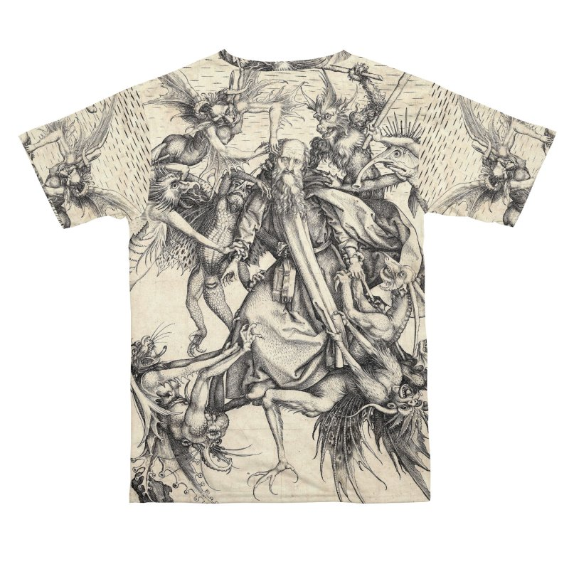 Vivid Retro - St. Anthony Women's Cut & Sew by lostsigil's Artist Shop