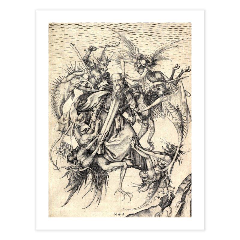 Vivid Retro - St. Anthony Home Fine Art Print by lostsigil's Artist Shop