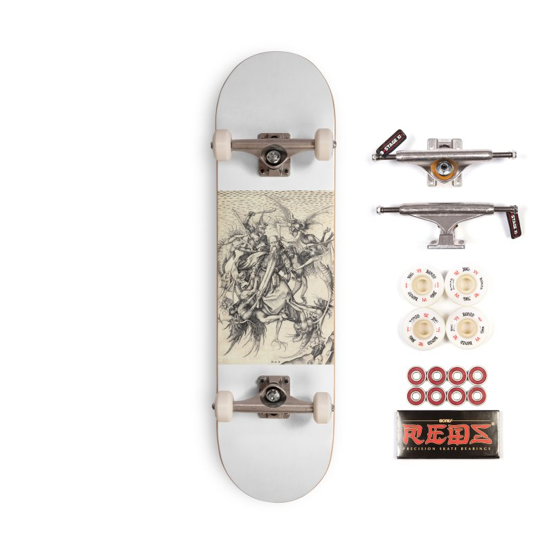 Vivid Retro - St. Anthony Accessories Complete - Pro Skateboard by lostsigil's Artist Shop