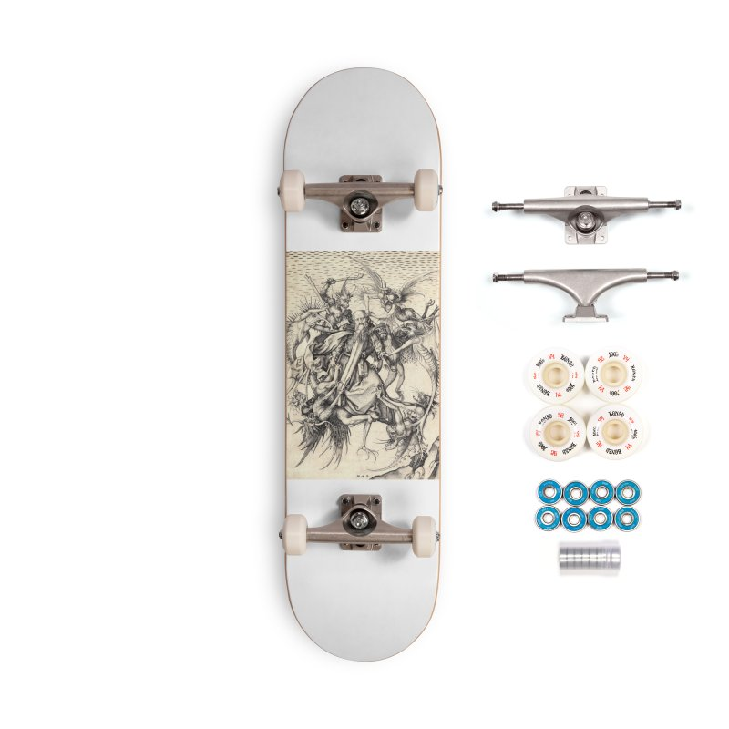 Vivid Retro - St. Anthony Accessories Complete - Premium Skateboard by lostsigil's Artist Shop