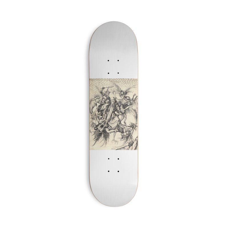 Vivid Retro - St. Anthony Accessories Deck Only Skateboard by lostsigil's Artist Shop