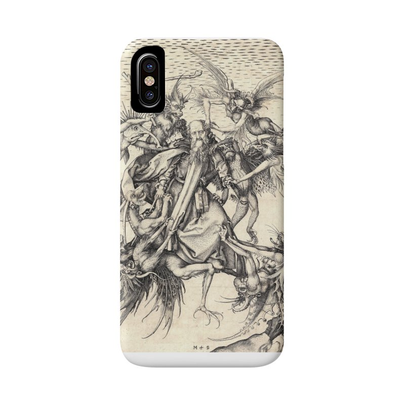 Vivid Retro - St. Anthony Accessories Phone Case by lostsigil's Artist Shop
