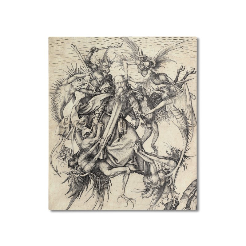 Vivid Retro - St. Anthony Home Mounted Aluminum Print by lostsigil's Artist Shop