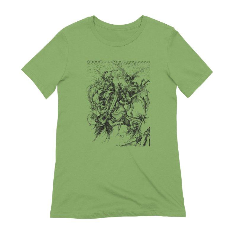 Vivid Retro - St. Anthony Women's Extra Soft T-Shirt by lostsigil's Artist Shop