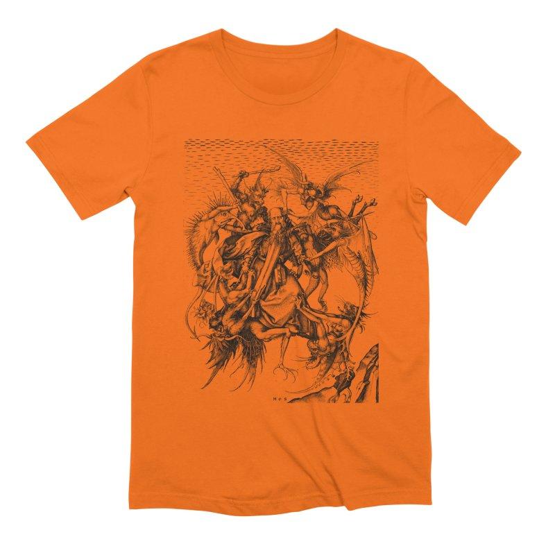Vivid Retro - St. Anthony Men's Extra Soft T-Shirt by lostsigil's Artist Shop