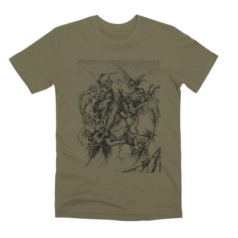 Vivid Retro - St. Anthony Men's Premium T-Shirt by lostsigil's Artist Shop