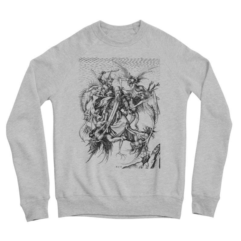 Vivid Retro - St. Anthony Men's Sponge Fleece Sweatshirt by lostsigil's Artist Shop