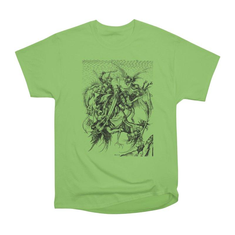 Vivid Retro - St. Anthony Women's Heavyweight Unisex T-Shirt by lostsigil's Artist Shop