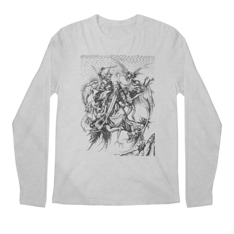 Vivid Retro - St. Anthony Men's Regular Longsleeve T-Shirt by lostsigil's Artist Shop