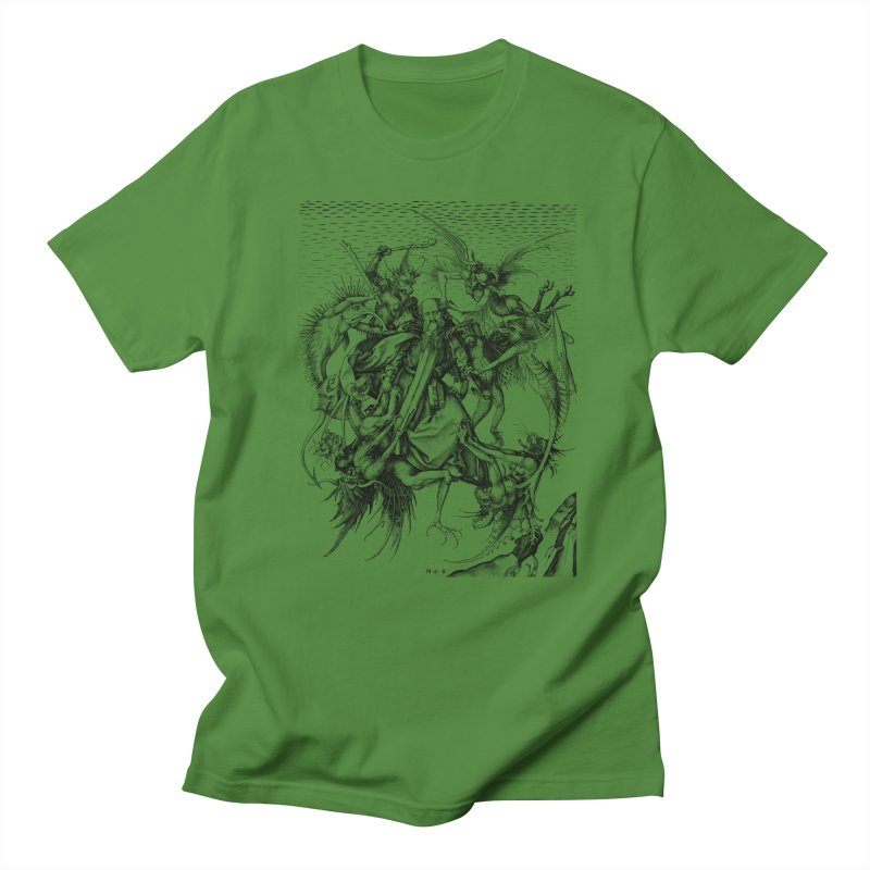 Vivid Retro - St. Anthony Men's T-Shirt by lostsigil's Artist Shop