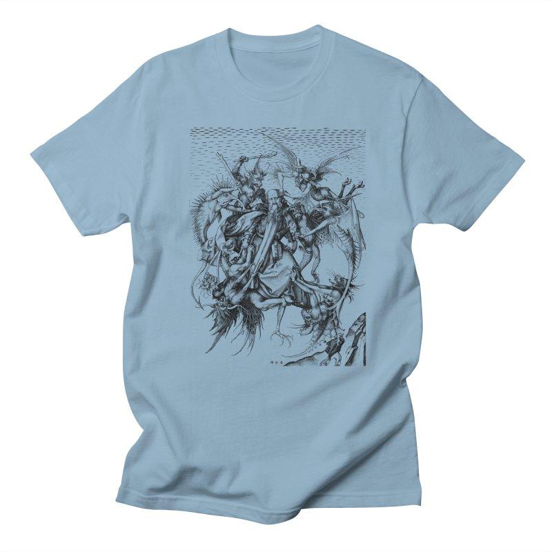 Vivid Retro - St. Anthony Men's T-Shirt by lostsigil's Artist Shop
