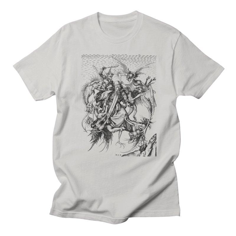 Vivid Retro - St. Anthony Men's Regular T-Shirt by lostsigil's Artist Shop
