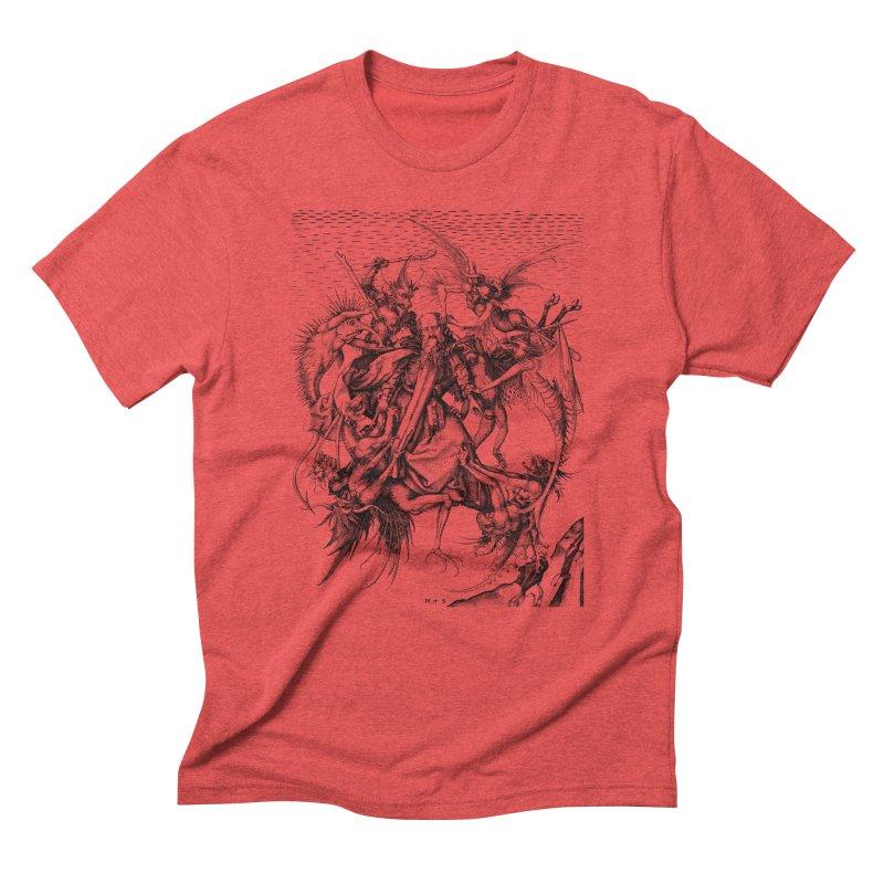 Vivid Retro - St. Anthony Men's Triblend T-Shirt by lostsigil's Artist Shop