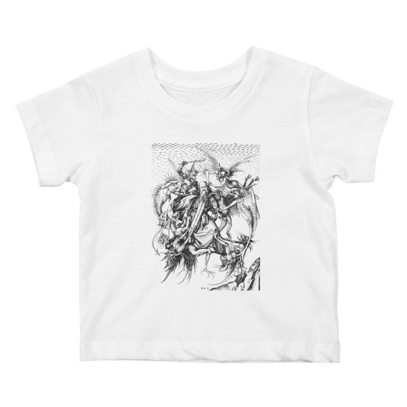 Vivid Retro - St. Anthony Kids Baby T-Shirt by lostsigil's Artist Shop