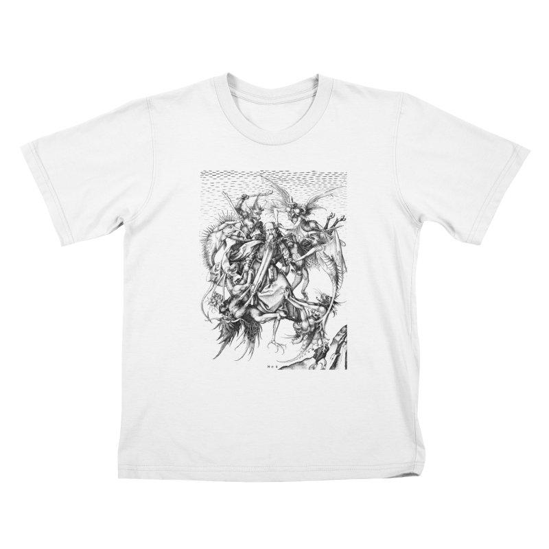 Vivid Retro - St. Anthony Kids T-Shirt by lostsigil's Artist Shop