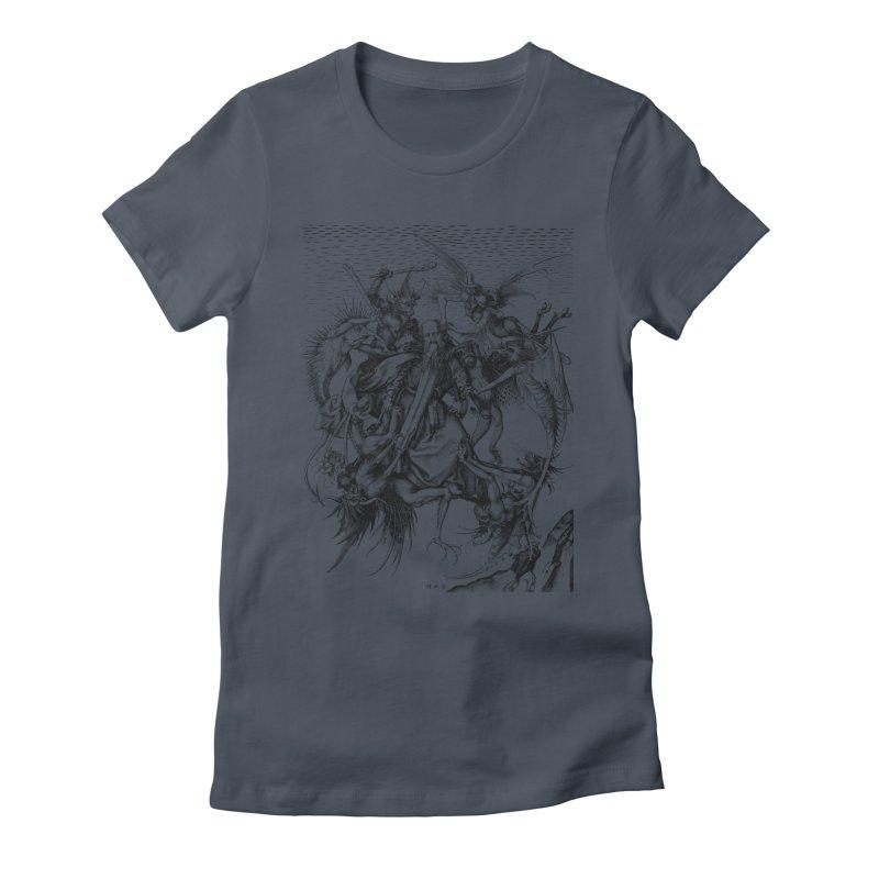 Vivid Retro - St. Anthony Women's T-Shirt by lostsigil's Artist Shop