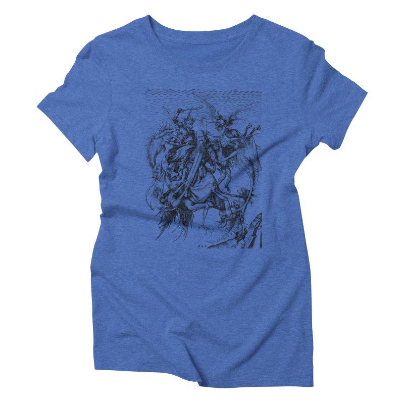 Vivid Retro - St. Anthony Women's Triblend T-Shirt by lostsigil's Artist Shop