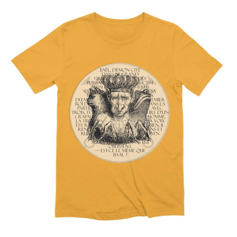Hierarchia Inferni - Bael Men's Extra Soft T-Shirt by lostsigil's Artist Shop
