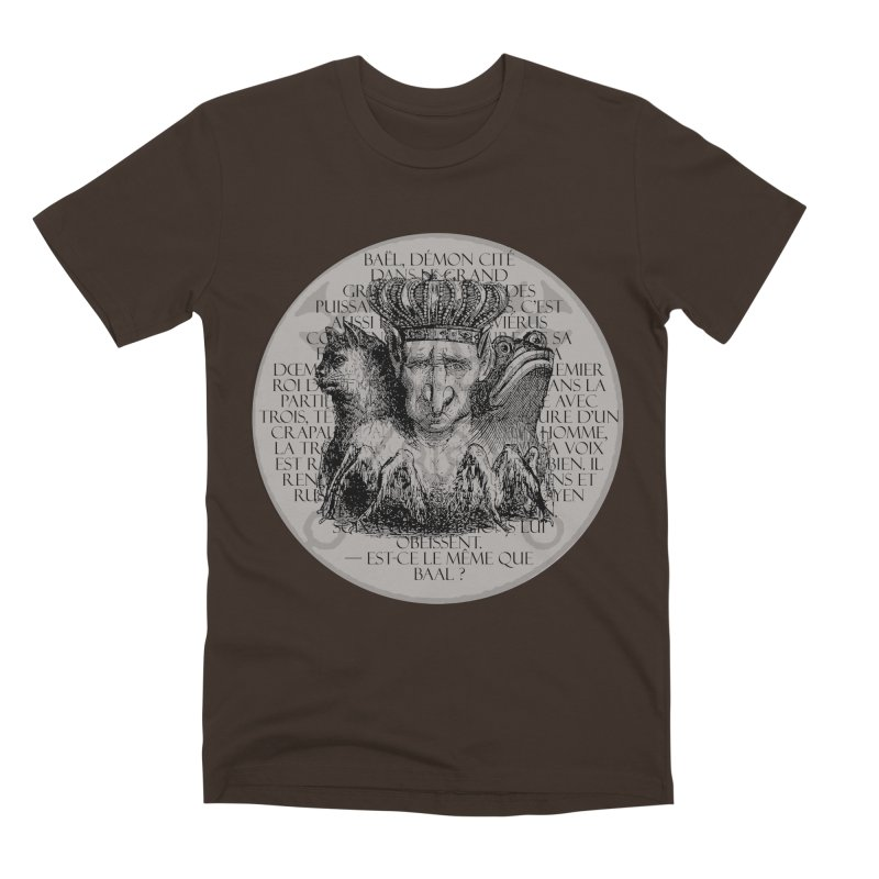 Hierarchia Inferni - Bael Men's Premium T-Shirt by lostsigil's Artist Shop