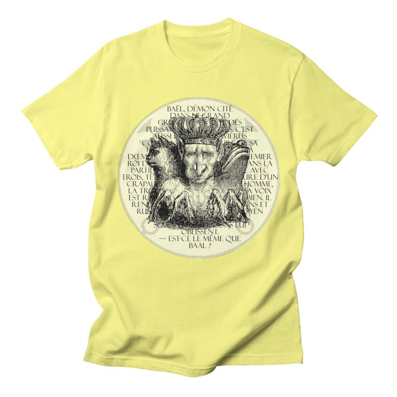 Hierarchia Inferni - Bael Women's Regular Unisex T-Shirt by lostsigil's Artist Shop