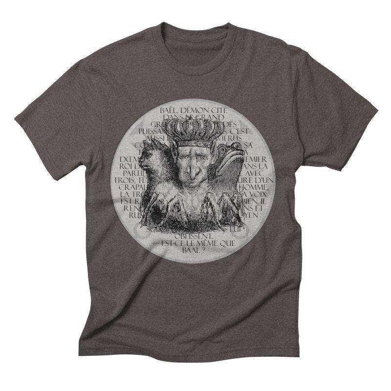 Hierarchia Inferni - Bael Men's Triblend T-Shirt by lostsigil's Artist Shop
