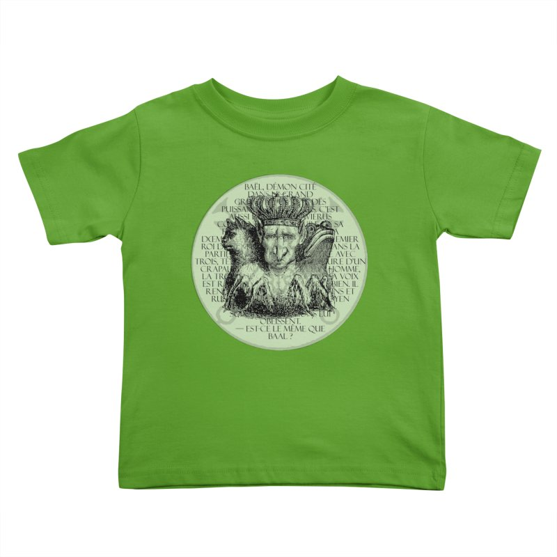 Hierarchia Inferni - Bael Kids Toddler T-Shirt by lostsigil's Artist Shop