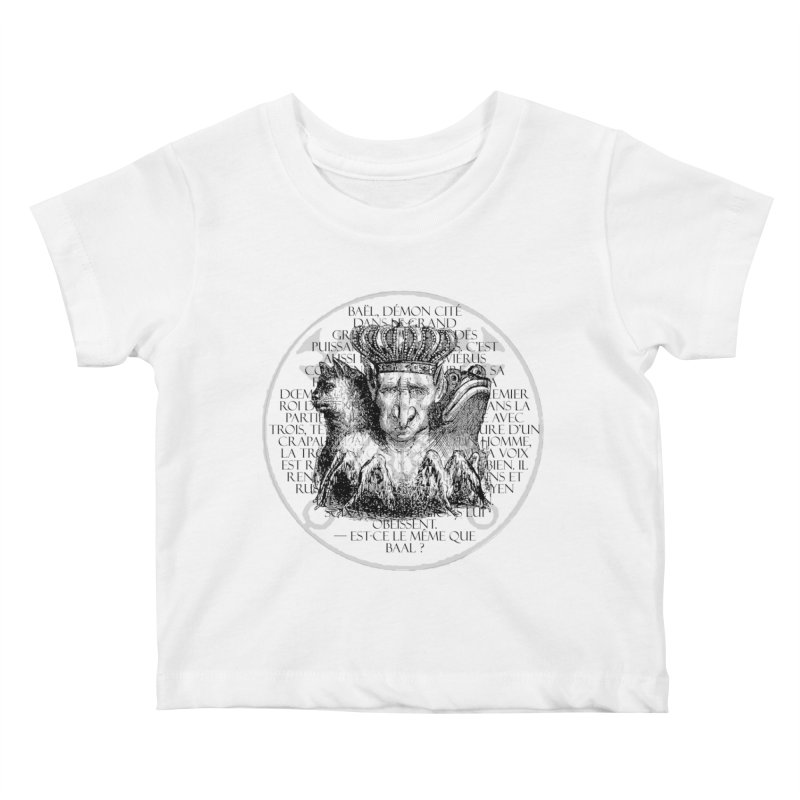 Hierarchia Inferni - Bael Kids Baby T-Shirt by lostsigil's Artist Shop
