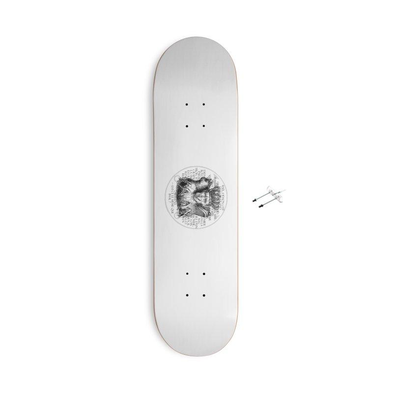 Hierarchia Inferni - Bael Accessories With Hanging Hardware Skateboard by lostsigil's Artist Shop