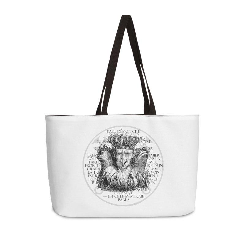 Hierarchia Inferni - Bael Accessories Weekender Bag Bag by lostsigil's Artist Shop