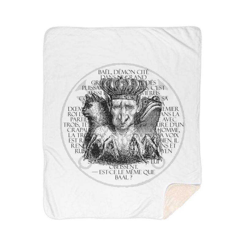 Hierarchia Inferni - Bael Home Sherpa Blanket Blanket by lostsigil's Artist Shop