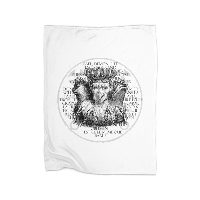 Hierarchia Inferni - Bael Home Fleece Blanket Blanket by lostsigil's Artist Shop