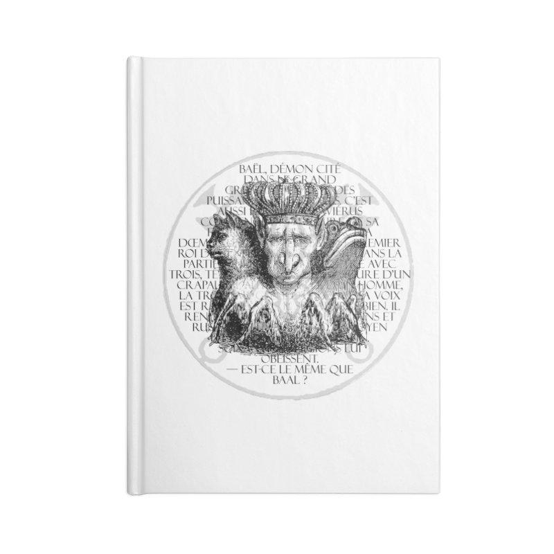 Hierarchia Inferni - Bael Accessories Blank Journal Notebook by lostsigil's Artist Shop