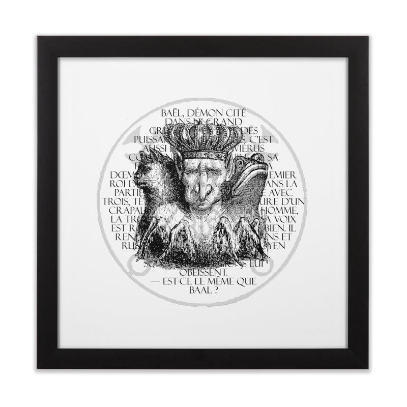 Hierarchia Inferni - Bael Home Framed Fine Art Print by lostsigil's Artist Shop