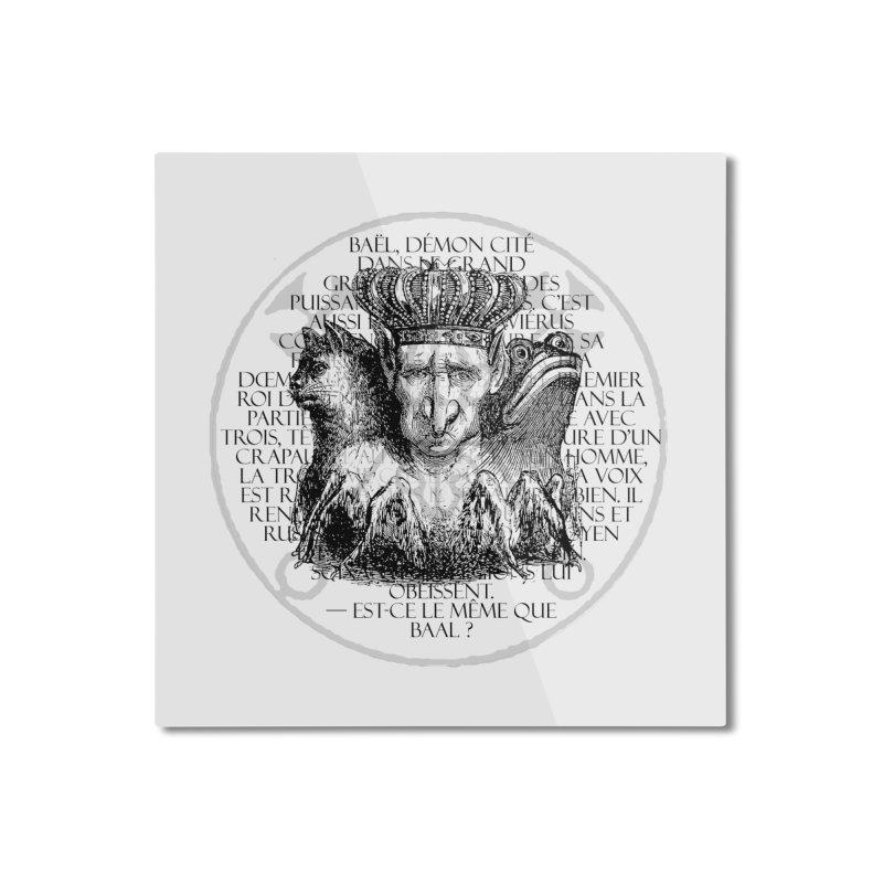 Hierarchia Inferni - Bael Home Mounted Aluminum Print by lostsigil's Artist Shop