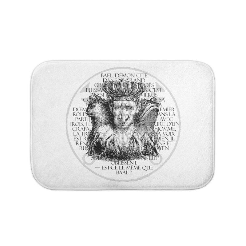 Hierarchia Inferni - Bael Home Bath Mat by lostsigil's Artist Shop