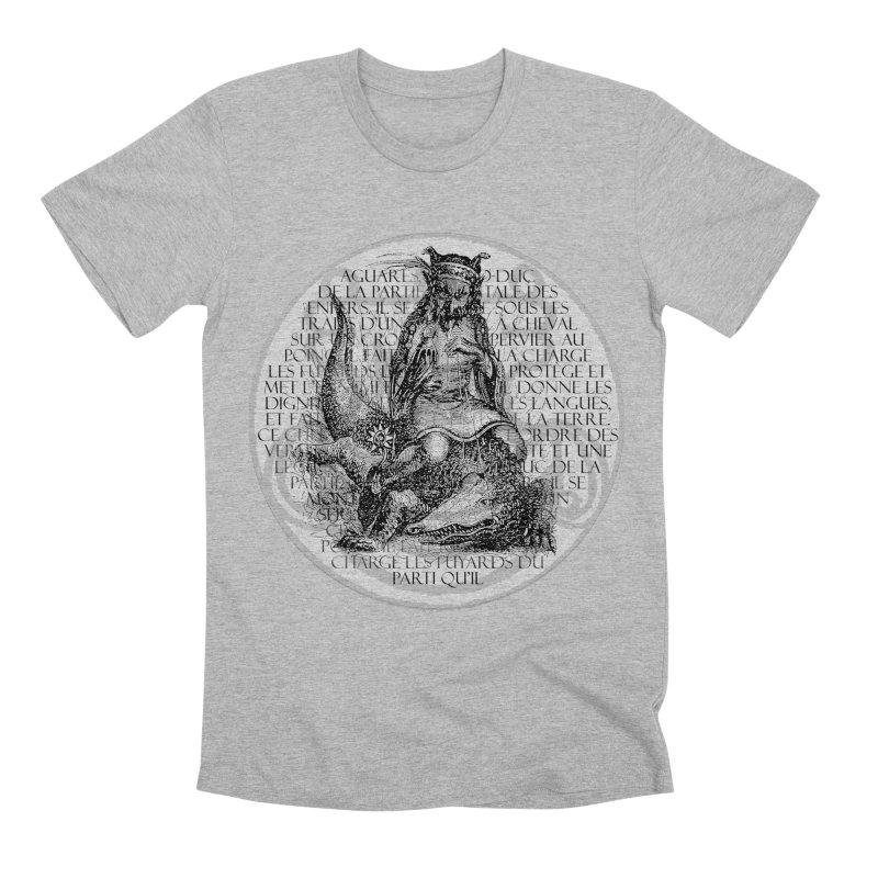 Hierarchia Inferni - Aguares Men's Premium T-Shirt by lostsigil's Artist Shop