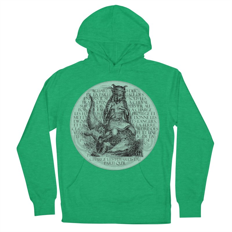 Hierarchia Inferni - Aguares Men's French Terry Pullover Hoody by lostsigil's Artist Shop