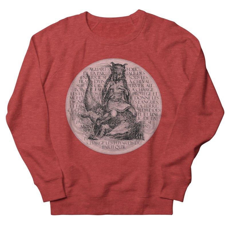 Hierarchia Inferni - Aguares Women's French Terry Sweatshirt by lostsigil's Artist Shop