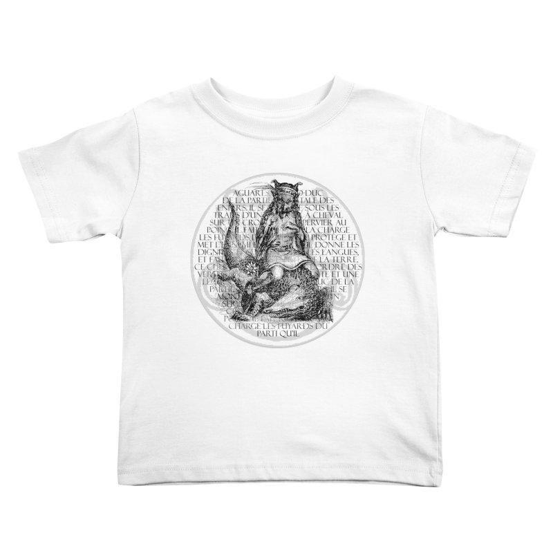 Hierarchia Inferni - Aguares Kids Toddler T-Shirt by lostsigil's Artist Shop