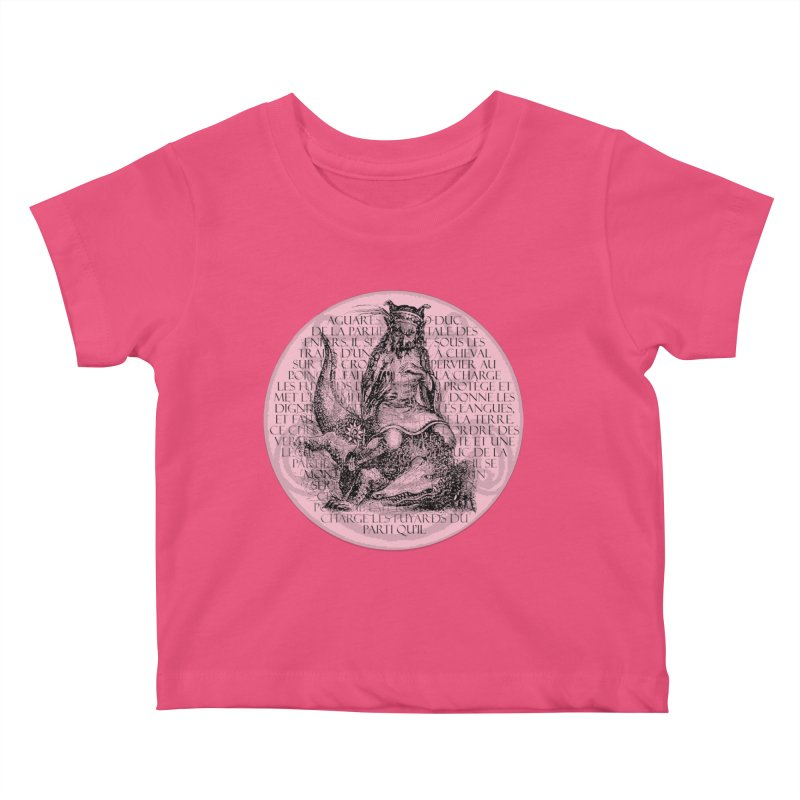 Hierarchia Inferni - Aguares Kids Baby T-Shirt by lostsigil's Artist Shop