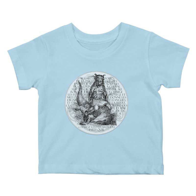 Hierarchia Inferni - Aguares Kids Baby T-Shirt by lostsigil's Artist Shop