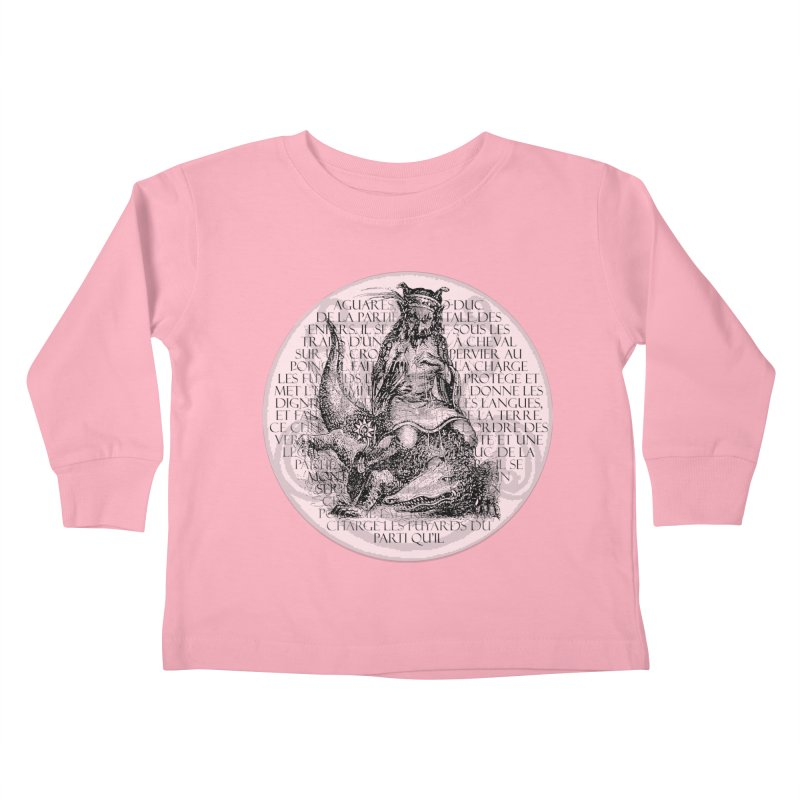 Hierarchia Inferni - Aguares Kids Toddler Longsleeve T-Shirt by lostsigil's Artist Shop