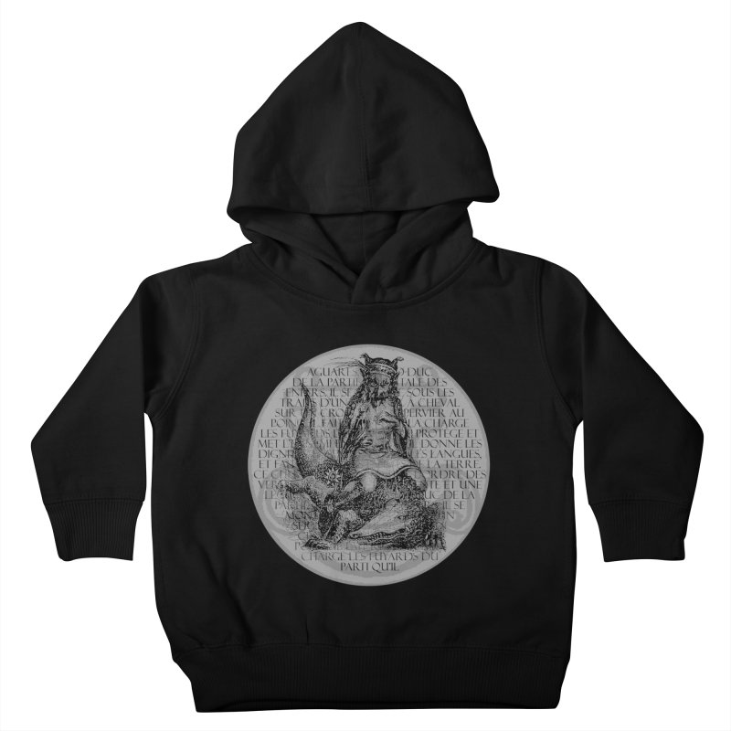 Hierarchia Inferni - Aguares Kids Toddler Pullover Hoody by lostsigil's Artist Shop