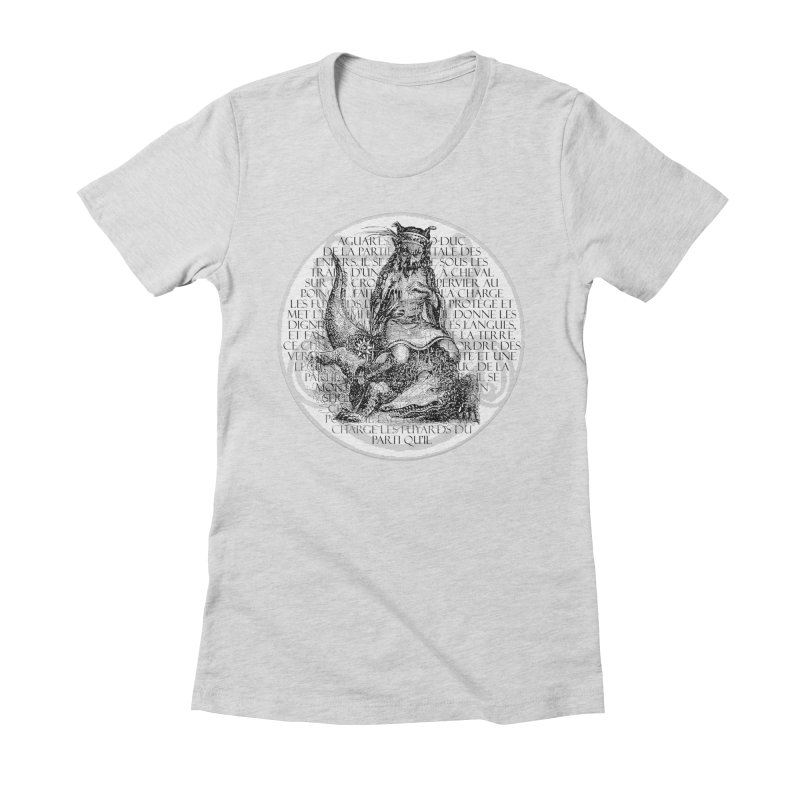 Hierarchia Inferni - Aguares Women's Fitted T-Shirt by lostsigil's Artist Shop
