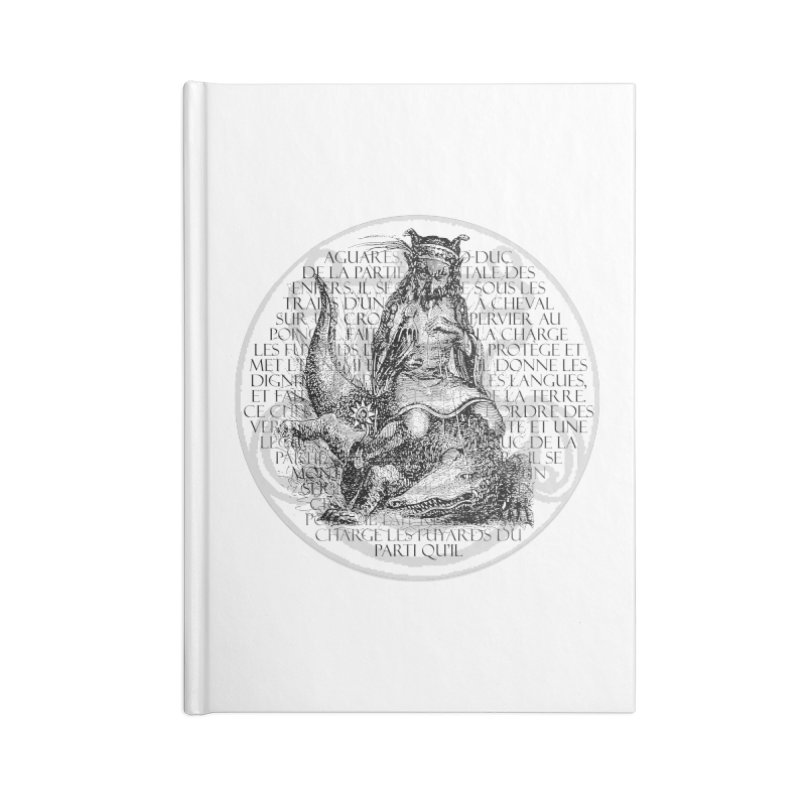 Hierarchia Inferni - Aguares Accessories Blank Journal Notebook by lostsigil's Artist Shop