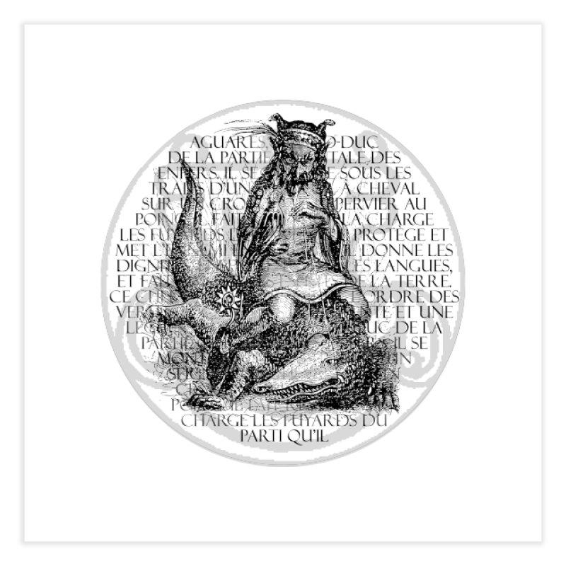 Hierarchia Inferni - Aguares Home Fine Art Print by lostsigil's Artist Shop